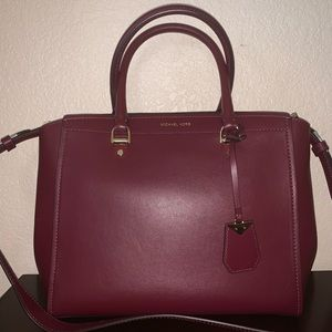Michael Kors Large Leather Satchel